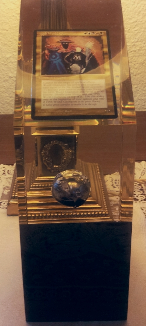 1996 World Champion Trophy Magic the Gathering