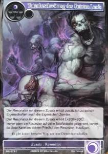 Totenbeschwörung des Untoten Lords