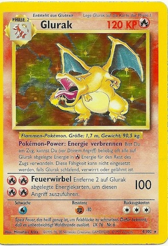 glurak pokemon karte Die wertvollsten Pokemon Karten   Teil 1   Gate To The Games