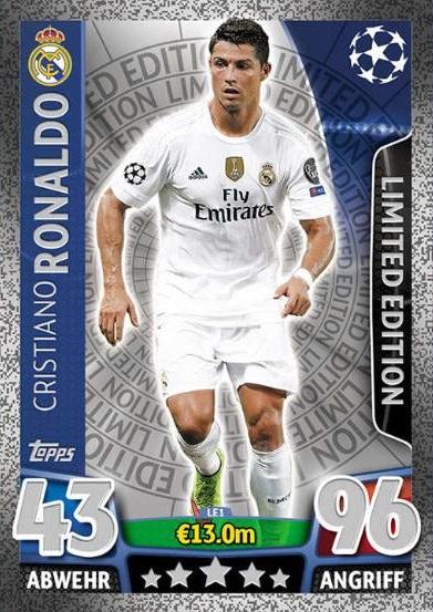 Ronaldo streng limitiert.