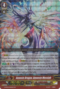 Genesis Dragon, Amnesty Messiah