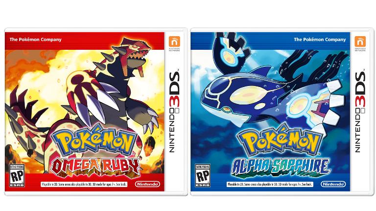 Pokemon Omega Rubin & Alpha Saphir