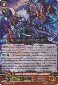 Rikudo Stealth Dragon, Jorurirakan