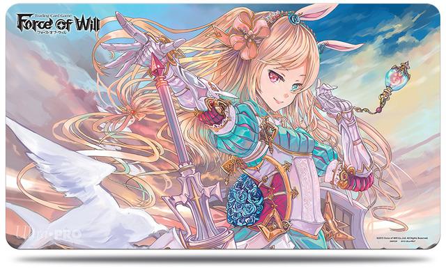 """Spielmatte """"Alice"""" von Ultra Pro. Wer möchte nicht gerne mit Alice spielen?"""