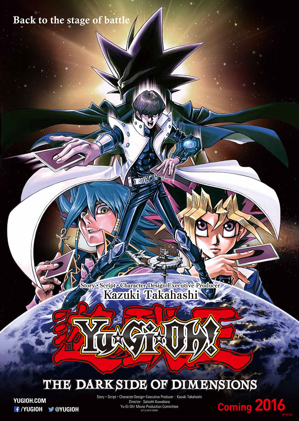 Yugioh The Dark Side Of Dimensions Movie Pack